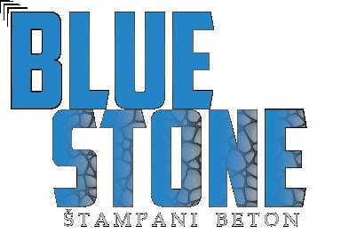 Štampani Beton Blue Stone Logo